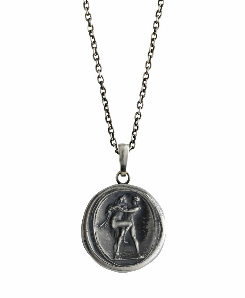 The Nymph Salmacis and Hermaphroditus Pendant
