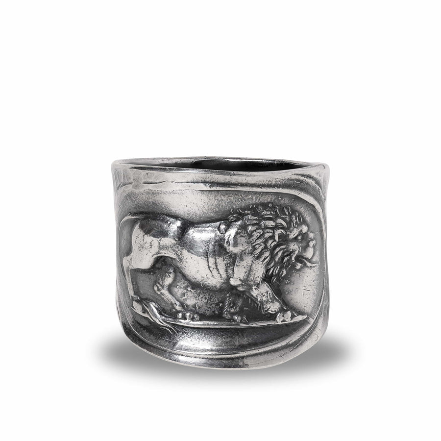 Lion Band Ring