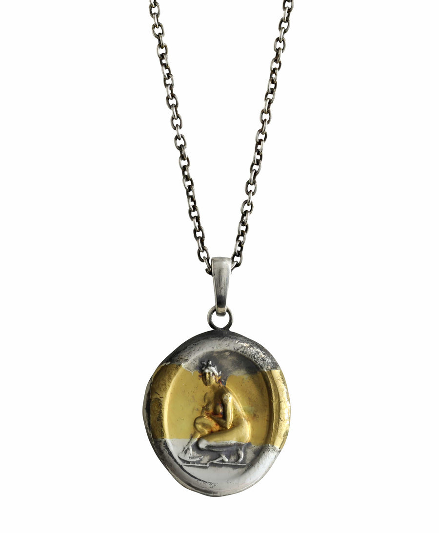 Aphrodite in Bath Pendant
