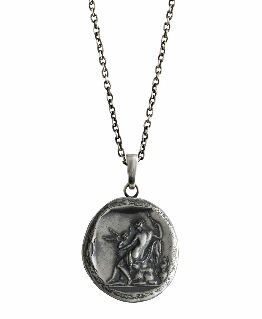 Aphrodite and Cupid Pendant