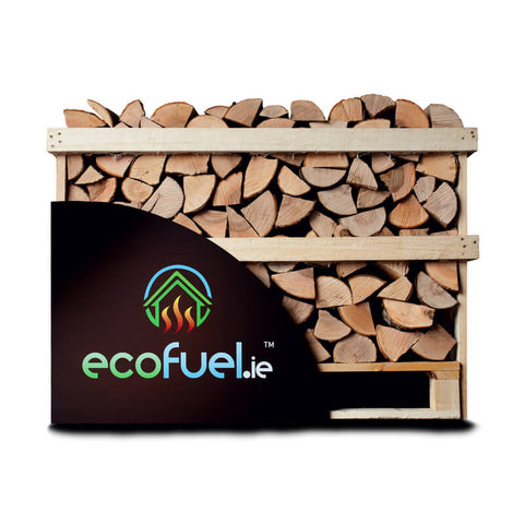 Kiln Dried Ash Firewood - Single Deck Pallet - ecofuel.ie