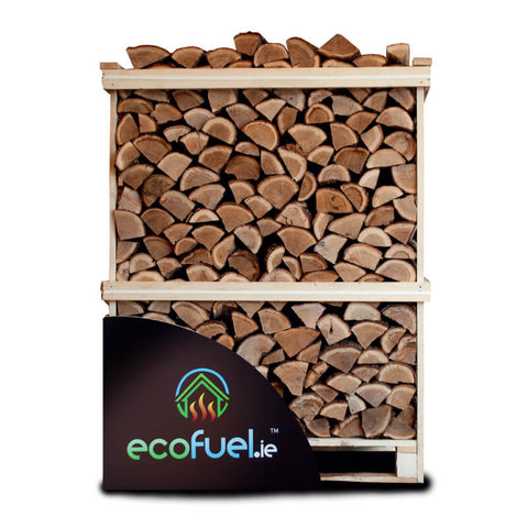 Kiln Dried Oak Firewood - Double Deck Pallet - ecofuel.ie