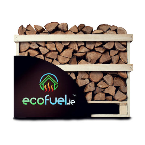 Kiln Dried Oak Firewood - Single Deck Pallet - ecofuel.ie