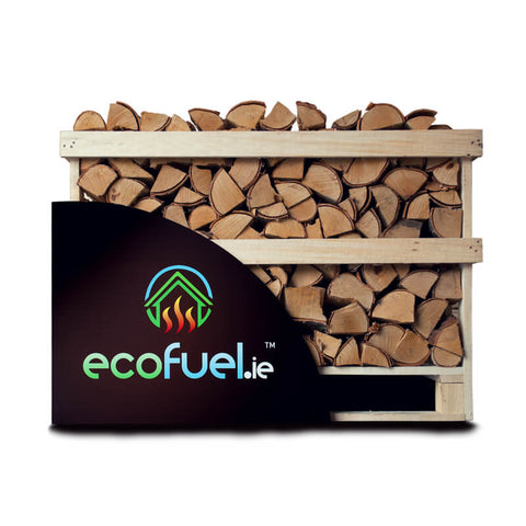 Kiln Dried Birch Firewood - Single Deck Pallet - ecofuel.ie