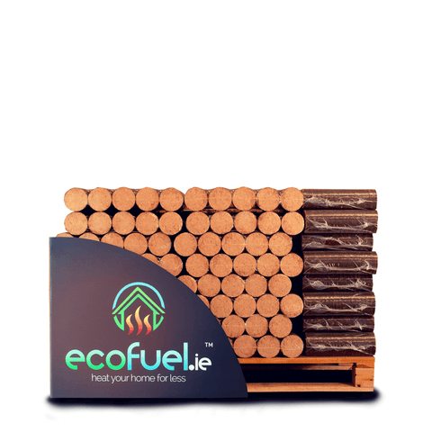 Beech Wood Logs. Pallet of 100 x 10kg (Total 600 logs) - ecofuel.ie