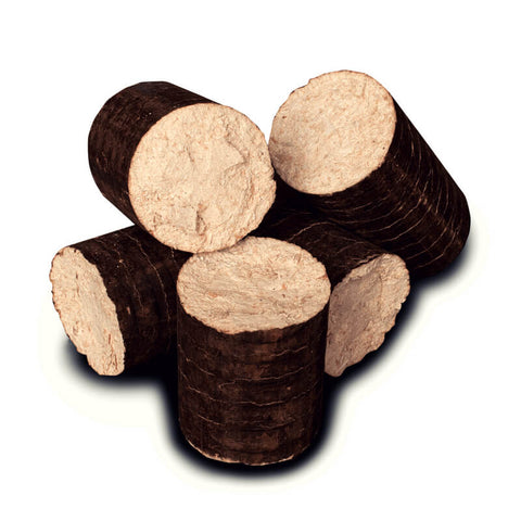 Compressed Beech Briquettes