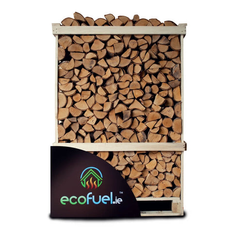 Kiln Dried Birch Firewood - Double Deck Pallet - ecofuel.ie