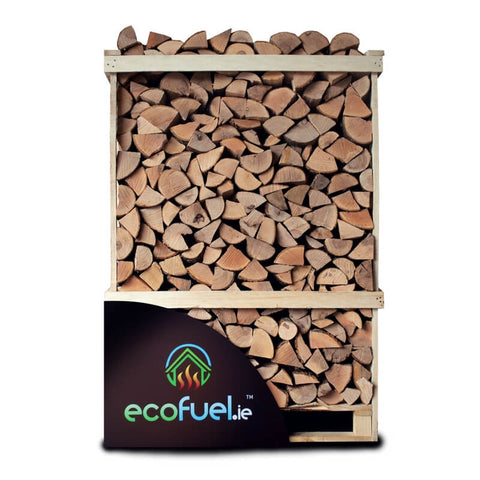Kiln Dried Ash Firewood - Double Deck Pallet - ecofuel.ie