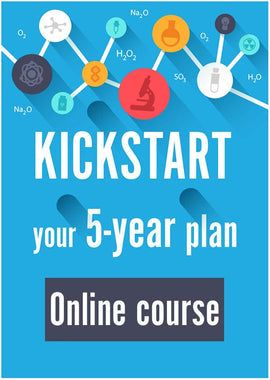 Kickstart your 5-year plan: Online course