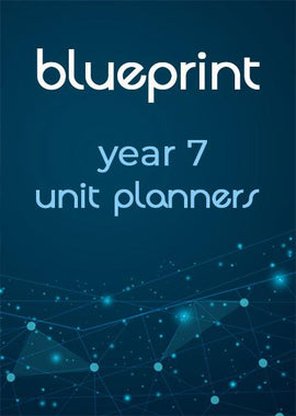 Blueprint Year 7/8 unit planners