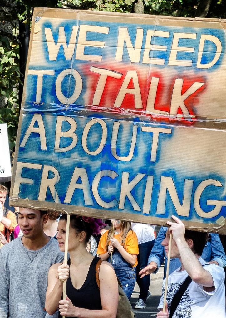 To frack or not
