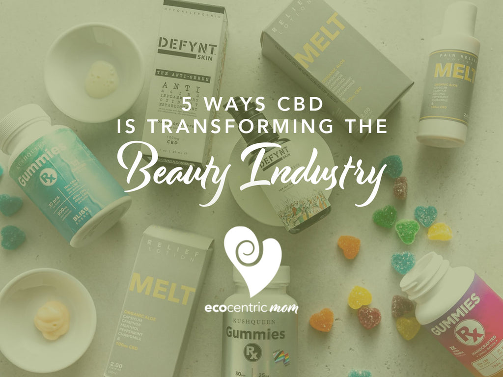 5 Ways CBD is Transforming the Beauty Industry