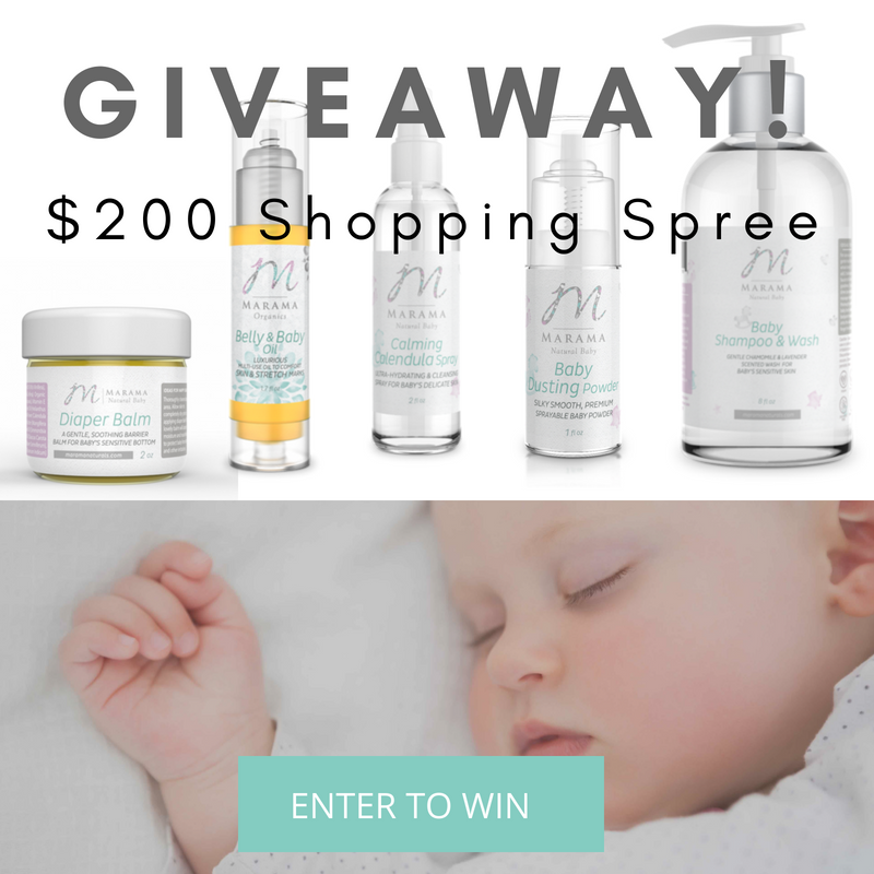 Marama Naturals Giveaway - a $200 Value {closed}