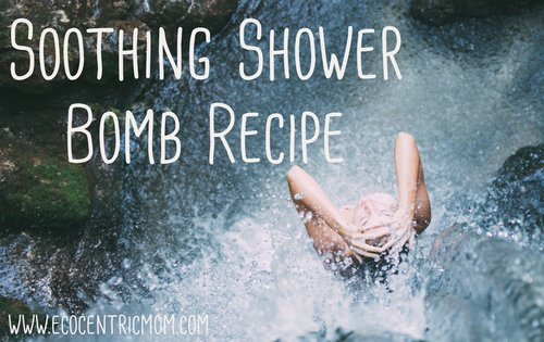 Soothing Shower Bomb Recipe