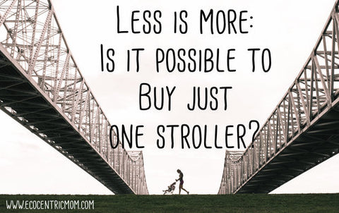 Less is More: Is it Possible to Buy Just ONE Stroller?
