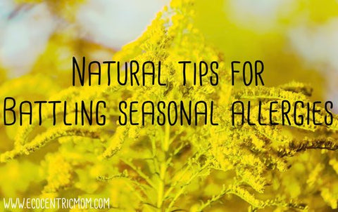 Natural Tips for Battling Seasonal Allergies