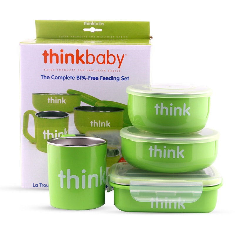 The Complete BPA Free Feeding Set by Thinkbaby