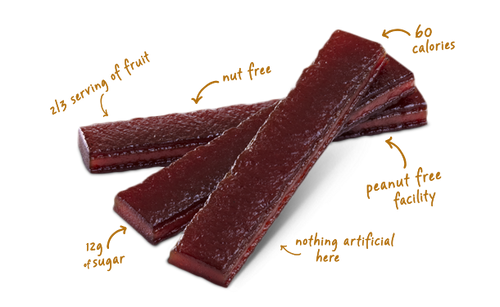 Layered Fruit Bars by Pure Organic