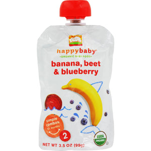 Happy Baby Organic Baby Food - Stage 2