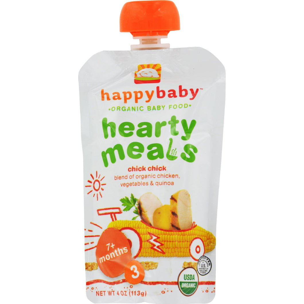 Happy Baby Organic Baby Food Stage 3 - Chick Chick - Case of 16