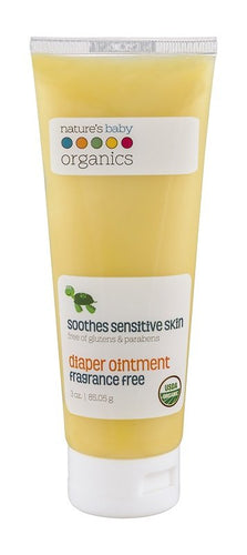 USDA Organic Diaper Ointment by Nature's Baby Organic