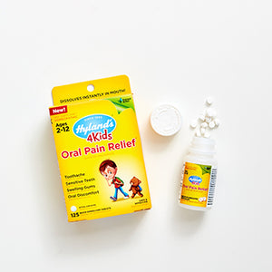 4 Kids Oral Pain Relief Tablets by Hyland's