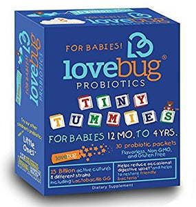 Tiny Tummies by Love Bug Probiotics