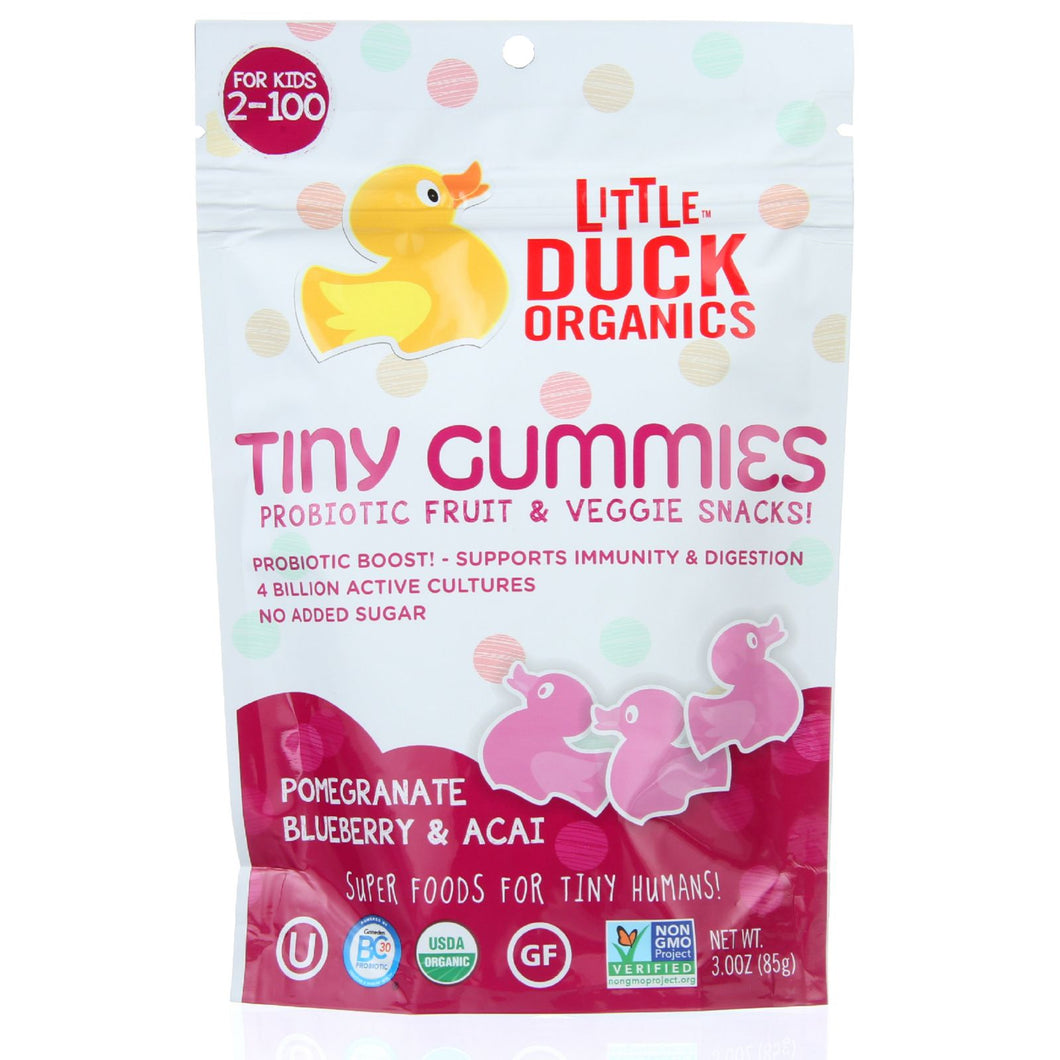 Little Duck Organics Probiotic Fruit and Veggie Snacks - Organic - Tiny Gummies