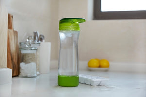 Hydrate Mate Glass Travel Bottle by Full Circle Home