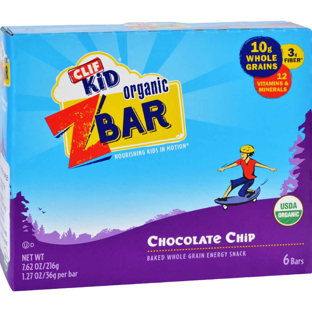 Clif Kid Zbar - Organic - Chocolate Chip