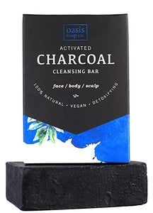 Charcoal Cleansing Bar by Oasis Soap Company