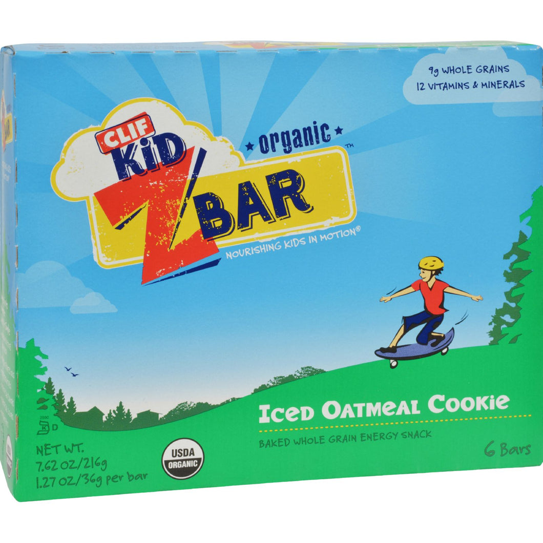 Clif Kid Zbar - Organic - Iced Oatmeal Cookie