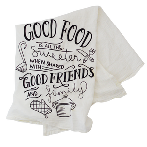 Holiday Tea Towel by North Detail