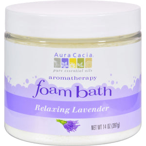 Relaxing Lavender Foam Bath by Aura Cacia