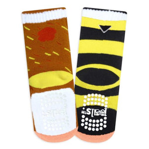 Bear & Bee Pals – Fun Toddlers Socks by Pals
