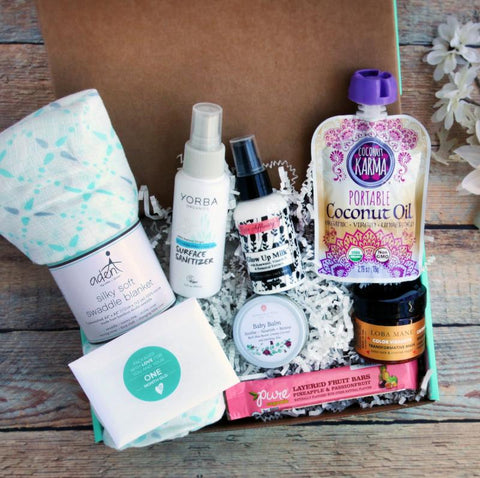 Ecocentric Mom Pregnancy Box Baby Subscription Box Toddler Box Mom Box