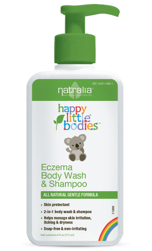 Eczema Body Wash & Shampoo by Natralia