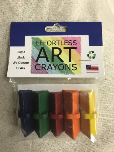 Effortless Art Crayons by Two Sparrows