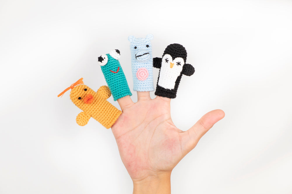 Cuddoll Finger Puppets (Set of 4)