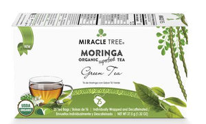 Organic Moringa Superfood Tea by Miracle Tree