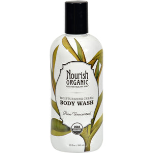 Nourish Organic Body Wash - Pure Unscented - 10 oz