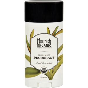 Nourish Organic Deodorant - Pure Unscented - 2.2 oz
