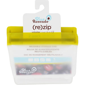 Blue Avocado Bag - Re-Zip - 1 Cup - Green - 2 Pack
