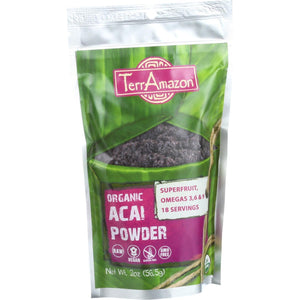TerrAmazon Organic Acai Powder - 2 oz
