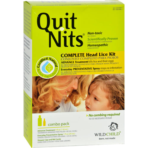 Quit Nits Complete Head Lice Kit by Hyland's
