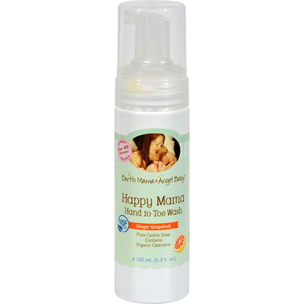Earth Mama Angel Baby Happy Mama Body Wash Ginger Grapefruit - 5.3 fl oz