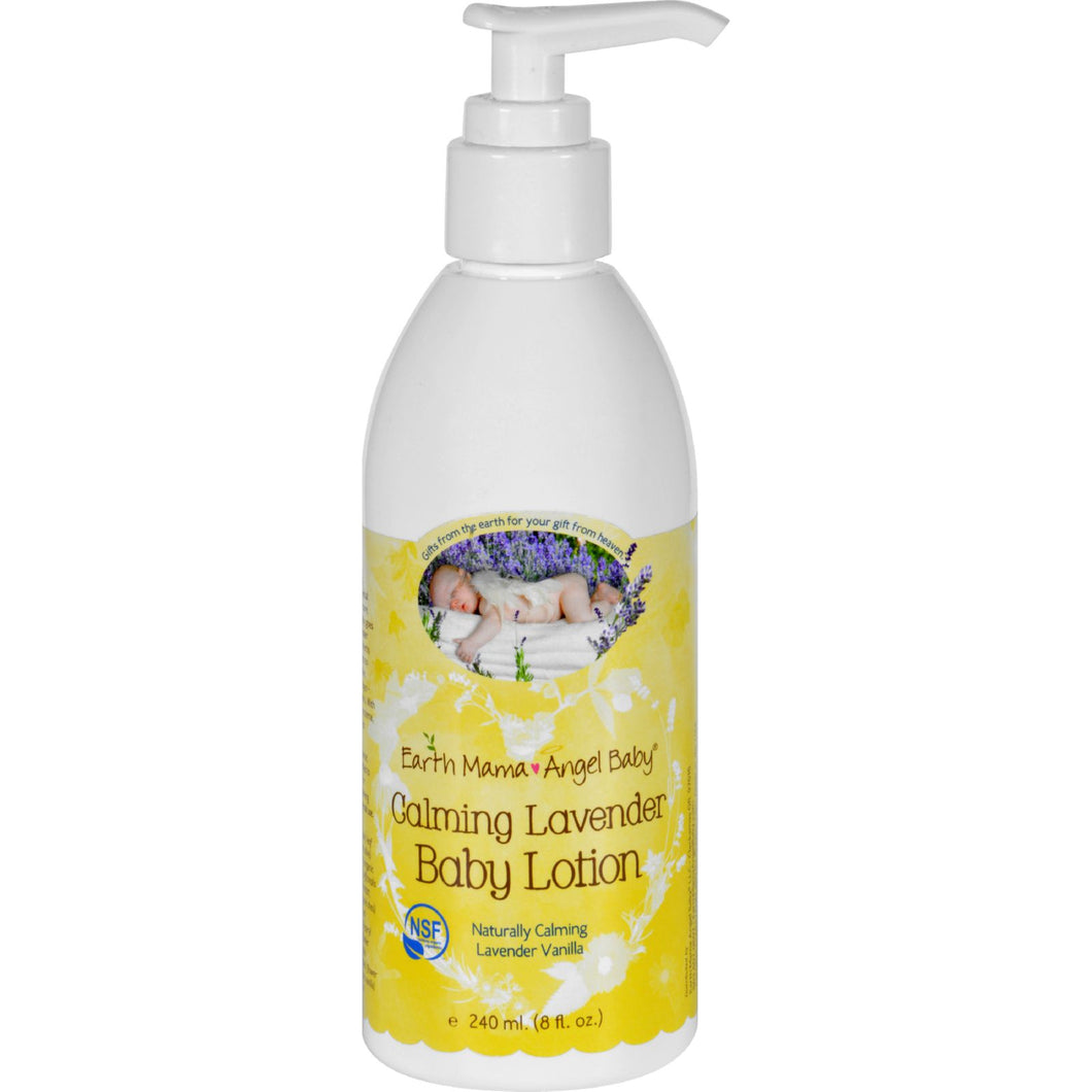 Earth Mama Angel Baby Lotion - Calming Lavender - 8 oz