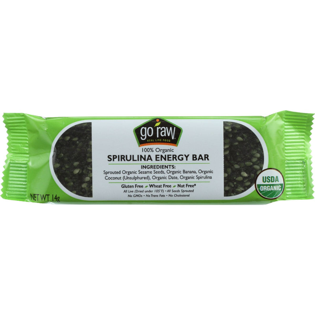 Go Raw Snack Bar - Organic - Sprouted  - Case of 10
