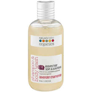 Lavender Chamomile Shampoo and Body Wash by Nature's Baby Organics