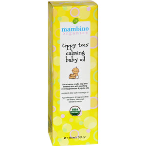 Tippy Toes Organic Calming Baby Oil by Mambino Organics